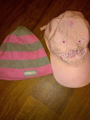 Pink San Diego hat and beanie for Sale in Las Vegas, NV