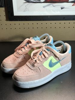 Nike Air Force 1 '07 SE Coral Aqua for Sale in Salem,  OR