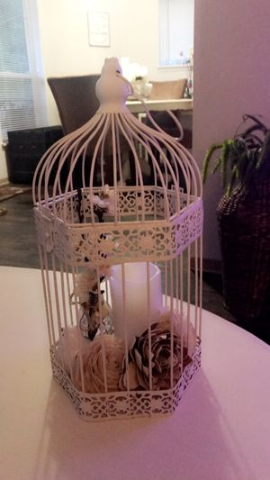 **Large Farmhouse Birdcage decor** for Sale in Puyallup, WA