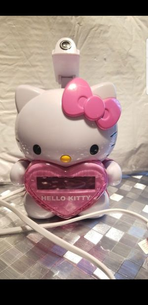 Hello Kitty alarm radio projection clock for Sale in Los Angeles, CA