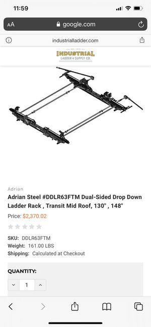 Ladder Rack for Sale in Tacoma, WA