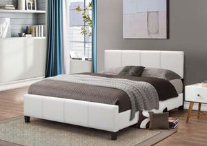 New Queen Mattress and Be Frame ( headboard) - Available Delivery for Sale in Baltimore, MD