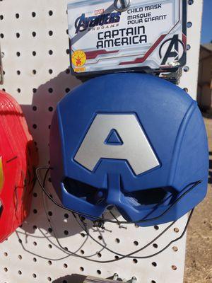 Kids Super Hero Masks. Captain America. for Sale in Prescott Valley, AZ