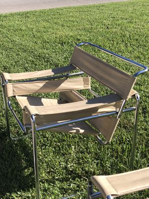 Replica Wassily chairs by Marcel Breuer, set of 2 for Sale in Palmetto, FL