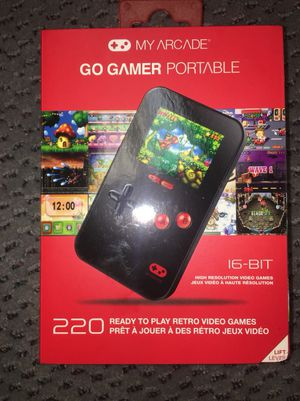 Brand new Go Gamer Portable has 220 ready to play games for Sale in Brockton, MA