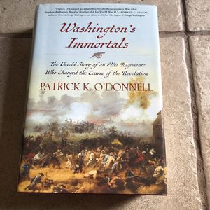 Washington's Immortals Patrick O'Donnnell Hardback Book for Sale in Lansing, KS