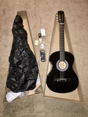 Acoustic Guitar unused with box for Sale in Bellevue, WA