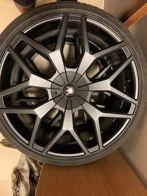 Mazzi Rims 24s for Sale in Fort Campbell, TN