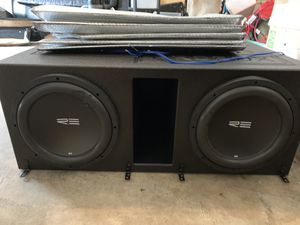 RE Audio 12in for Sale in Houston, TX