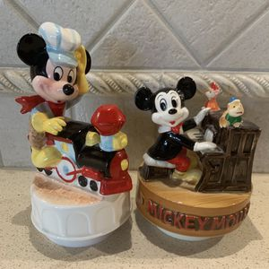 Schmid Walt Disney Music Box- Mickey Mouse for Sale in Freehold, NJ