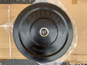 2 Brand New 35 Lb Maverick Olympic Bumper Weight Plates- for Sale in Davenport, FL