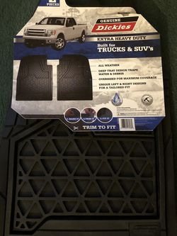 New Pair Of Floor Mats For Truck/SUV. Cash Only. Norton Pickup for Sale in Norton,  MA