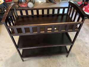 Baby crib and changing table for Sale in Manchester, MO