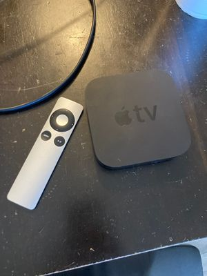 Apple TV w power cord, hdmi, remote for Sale in Phoenix, AZ