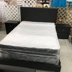 5 PCS BEDROOM SET NEW IN BOX FULL or QUEEN JUEGO DE HABITACIÓN TODO NUEVO EN SU CAJA - BED SET for Sale in Miami, FL