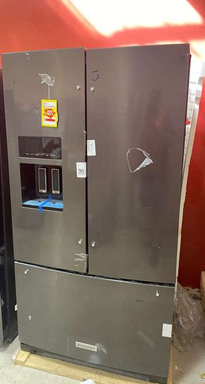 Kitchen aid KRFF507HBS refrigerator 💦💦💦 RULTW for Sale in San Antonio, TX