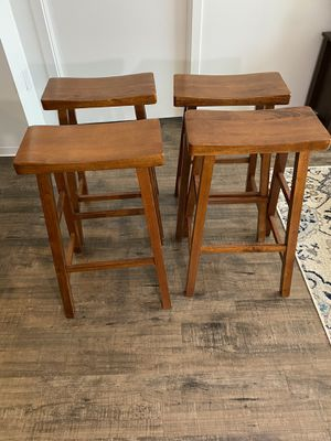 "Bar Stools (set of 4) 29"" tall saddle seat style for Sale in Philadelphia, PA"