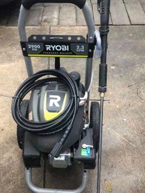2900 PSI RYUBI PRESSURE WASHER for Sale in San Antonio, TX
