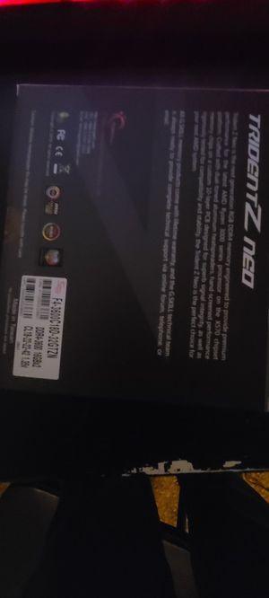 TridentZ neo DDR4-3600 16GBx2 CL18 for Sale in Fresno, CA