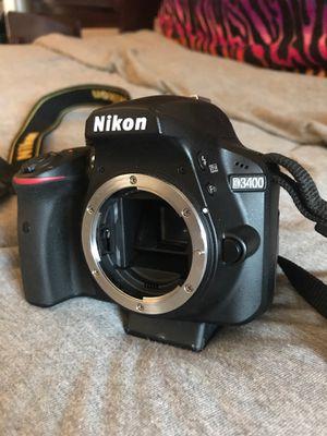 Nikon D3400 w/ 2 AF-S NIKKOR lenses for Sale in Berlin, MD