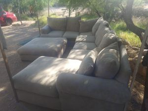 Trade for Lot Space or Down Payment of Land for my Sectional Extra Large Sofa for Sale in Tucson, AZ