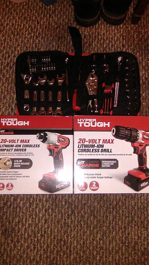 Just impact drill and tool set for Sale in Scott City, MO