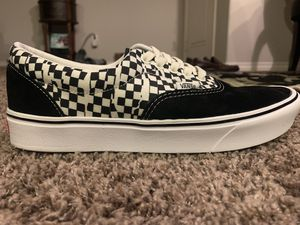 Authentic checkered vans new for Sale in Riverside, CA