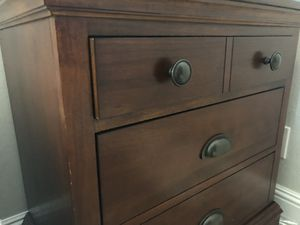 Dresser(two piece) plus 2 standsSOLID! for Sale in Concord, CA