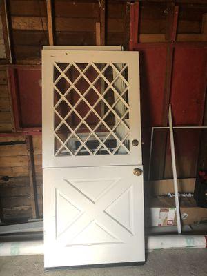 Full solid door unique half/half opening for Sale in Stockton, CA
