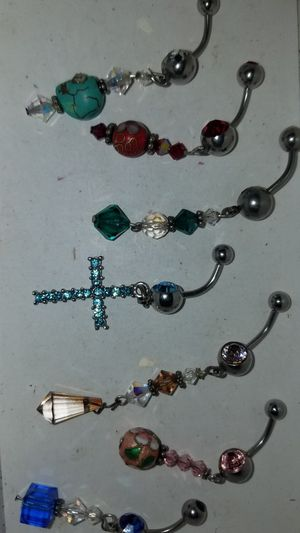 JEWELRY BELLY RINGS HAND CRAFTED BODY JEWELRY for Sale in Austin, TX