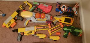 NERF GUNS!!! Tons of Fun for Sale in Washington, DC