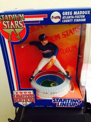 GREG MADDUX / ATLANTA BRAVES 1995 MLB Stadium Stars Starting Lineup for Sale in Houston, TX
