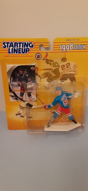 Wayne Gretzky New York Rangers starting lineup action figure NHL for Sale in Miromar Lakes, FL