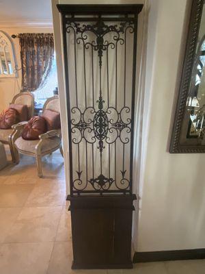 Mediterranean decor faux door style for Sale in Santa Clarita, CA