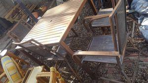 patio furniture aluminum for Sale in Dallas, TX