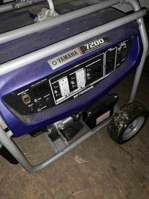 Yamaha 7200 generator for Sale in Aurora, CO