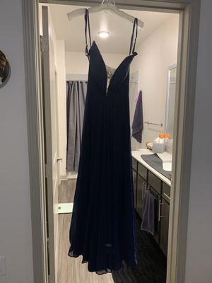 Navy Prom Dress, Size 4 for Sale in Grand Prairie, TX