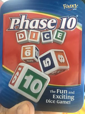 Phase 10 dice game $2 for Sale in Buffalo, NY