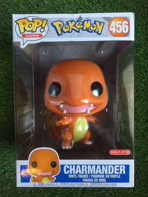 "Funko Pop Pokemon Charmander 10"" Target Exclusive Sold Out Toy Figure 456 Collectible for Sale in Duluth, GA"