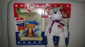 Beanie Babies Libearty the Bear for Sale in Philadelphia, PA