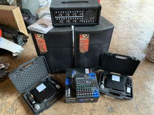 Full karaoke/DJ system. for Sale in Renton, WA