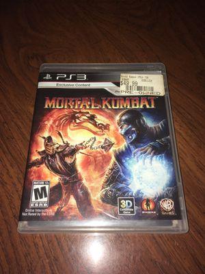 PS3 Mortal Kombat for Sale in Hialeah, FL