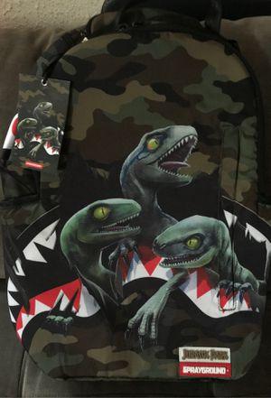 SPRAYGROUND BACKPACK JURASSIC PARK - Shark Backpack for Sale in Culver City, CA