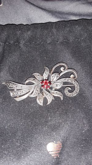 Silver marcasite brooch $30 for Sale in North Highlands, CA