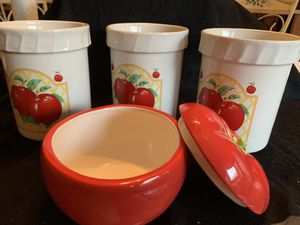 Kitchen jars sets for Sale in Waterbury, CT