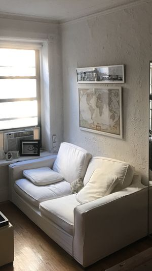 White sofa on sale for Sale in New York, NY