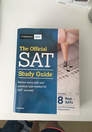 2018 SAT Study Guide Book for Sale in Falls Church, VA