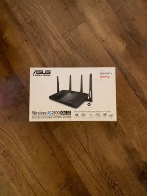 Brand new Asus -AC2600 CM-32 Modem Router for Sale in Columbus, OH