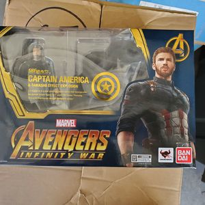 Sh Figuarts Avengers Endgame Captain America for Sale in Paramount, CA