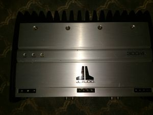 JL Audio 300/4 amp for Sale in Springfield, MA